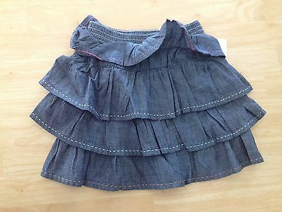 NWT Gymboree Tea Time Afternoon Ruffle Skirt 4 5 Girls
