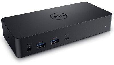 New Dell Universal Laptop Dock Docking Station USB - C 3.0 4K Display Triple