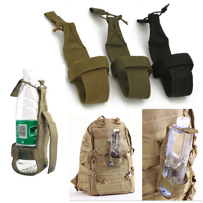 Outdoor Hiking Camping Molle Water Bottle Holder Belt Carrier Pouch Nylon Bag