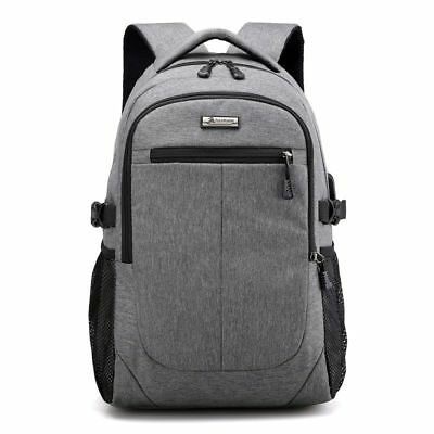 Business Anti Theft Slim Durable Laptops Backpack with USB charging Port Wa T1Z5