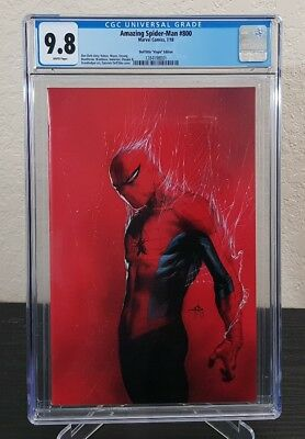 Amazing Spider-man #800 CGC 9.8 Gabrielle Dell'Otto 1:200 Virgin Variant