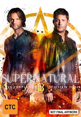 Supernatural : Season 13 (Blu-ray, 2018, 4-Disc Set) (Region B) New Release