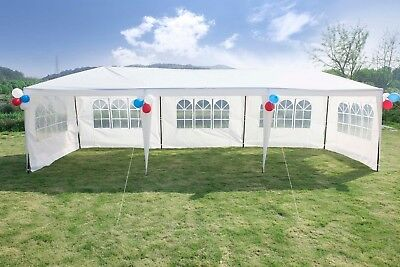 20 X 20 Frame Tent Outdoor Party Event White Canopy Wedding