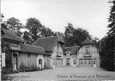 Cpsm. Hauterive. Colonie De Vacances De La Nationale. 1962.