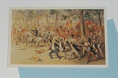 Departure Of Burke And Wills Expedition  By S.t. Gill - Greeting Card  New