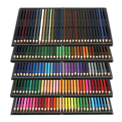 160X Complete Paint Drawing Colouring Art Box Set Watercolor Pencils Oil Pastel
