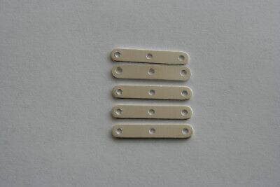 Silver Plated Strand Separator - 3 holes 30 pieces #6342