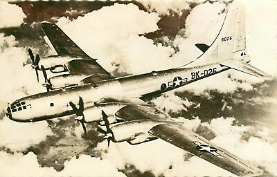 Very nice old Postcard ' BOEING SUPERFORTRESS B 50 '  from Marteau (PK15)