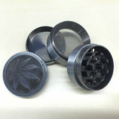 Tobacco/Weed 4 Layer Herb Grinder Spice Smoke Crusher Leaf Design Zinc Alloy BP