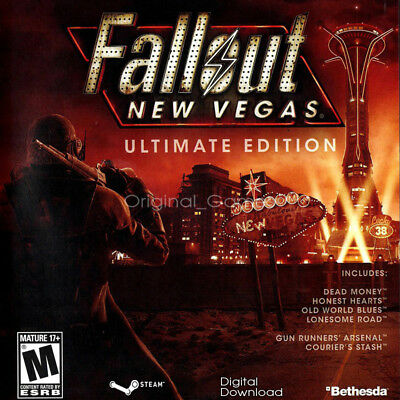 Fallout New Vegas Ultimate Edition Steam key PC Global