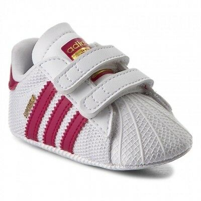 cheap for discount dd21e 963d4 Adidas Originals Superstar Crib Shoes Baby Infant Girls Trainers - S79917
