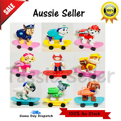 Paw Patrol Figure Dog Puppy Car Rescue Action Figurine Gifts Toys Hero Dogs Xmas