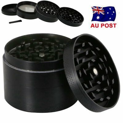 40mm 4-layer Plus Aluminum Herb Grinders Hand Crank Herbal Tobacco Smoke Grinder