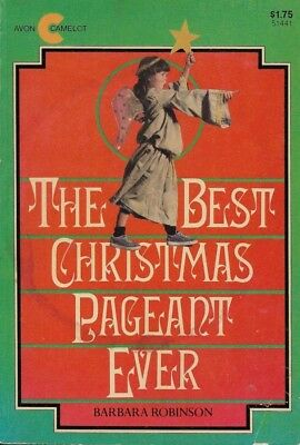The Best Christmas Pageant Ever by Barbara Robinson Child Kids Book Ages 8 - 12