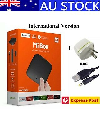 Xiaomi Mi Android 6.0 Smart 4K Mi TV Box HDR with Google Cast Global Version