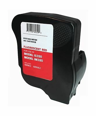 Neopost ISINK2 Fluorescent Red Ink Cartridge Neopost IS280 Hasler Postage Meters