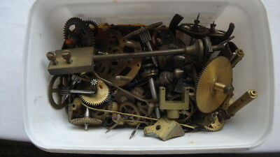 "Antique Collection of ""CLOCK MOVEMENT.""   Clock Parts. For Spares or Repair"
