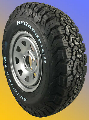 4 Offroad-Räder DACIA Duster ab 2018 215/65 R16 103S BF GOODRICH