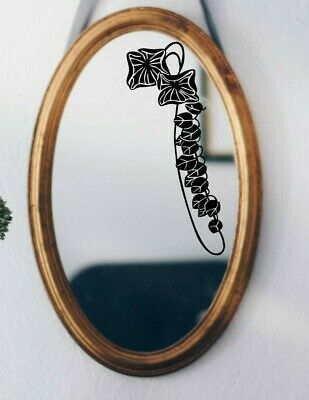 Art Nouveau Flower Border Wall Art Matt Vinyl Sticker Tile Glass Mirror Decal