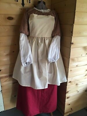 Colonial Georgian 18th Century Rev War Pioneer 4piece Complete Outfit