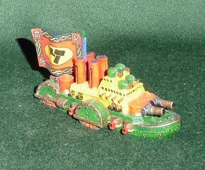 "Rare Citadel GW Man O' War  OOP Well Painted Dwarf Dreadnought ""Flagship"""