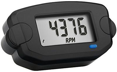 Trail Tech 742-A00 Black Surface Mount TTO Digital Tachometer plus Hour Meter,1