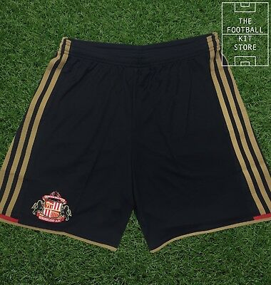 Sunderland Home Shorts - Official adidas Football Shorts - Mens - All Sizes