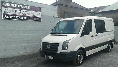 Volkswagen Crafter 2011 Automatic 2.5 TDI 135 BHP
