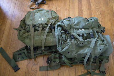 Large USGI ALICE Packs (rucksack), Special Forces modified, for rucking, camping
