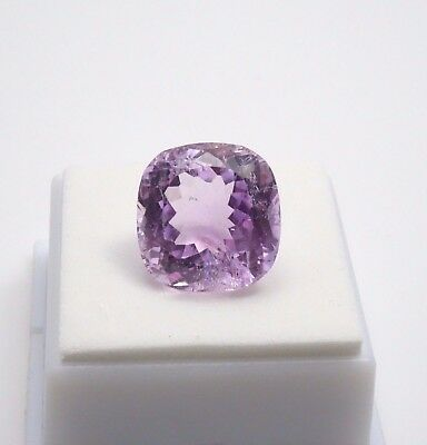 Kunzite Cushion - 19.10ct - 15x15mm - Kunzite from Afganistan Loose Gemstone