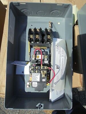 Square D 8903Lxg30V04, 30 Amp 3 Pole Lighting Contactor- New