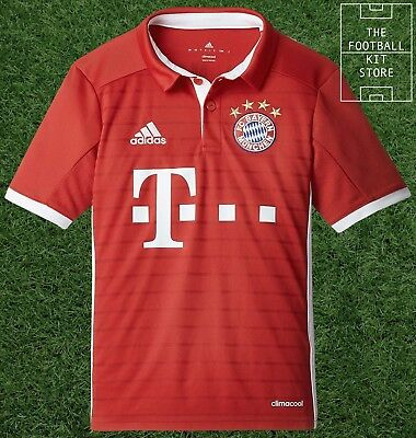 Bayern Munich Home Shirt - Official adidas Boys Football Jersey - All Sizes