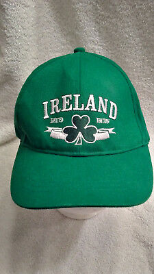 Limited Edition IRELAND Green Baseball Cap Hat Kids Youth St. Patrick's NEW