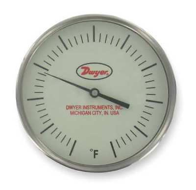 DWYER INSTRUMENTS BTM3406D Bimetal Thermom,3 In Dial,50 to 300F