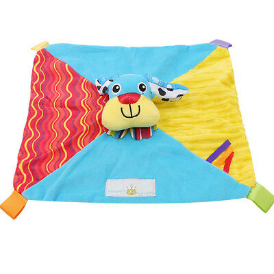 Cute Soft Stuffed Animal Towel Baby Toy Calm Reassure Towel Blanket Towel Z