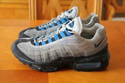 the best attitude f0fbd 32e70 ... low cost nike air max 95 110s mens trainers grey blue size 7 uk eu 50619