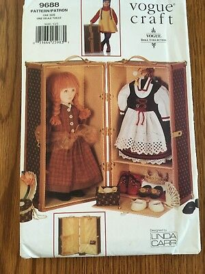 """Vogue Craft Pattern 9688 for a 12""""x21""""x11"""" trunk and 2 boxes 1997 new condition"""