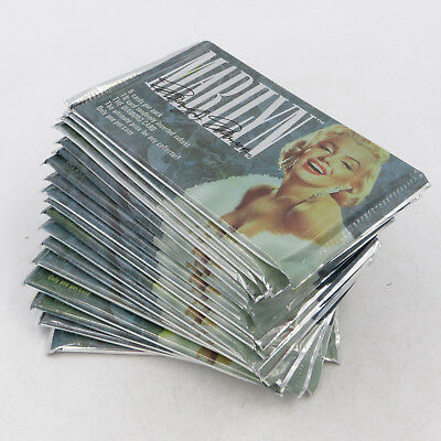 72 Sealed Packs (1993 Sports Time) Official Marilyn Monroe Photo Trading Cards!