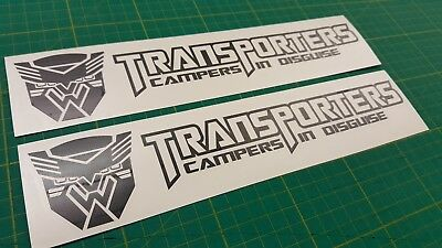 VW Transporter Camping-Car T25 T3 T4 T5 T6 As Stickers Autocollant Graphique