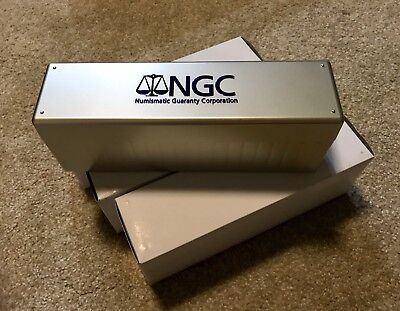 Official NGC Storage Box ~ Holds 20 NGC Slabs. Brand New!!