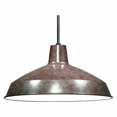 1 Light 16 in. Pendant Warehouse Shade Old Bronze NUVO SF76-662