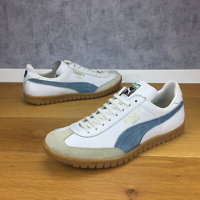 Wie Neu Vintage Puma Oslo Schuhe 9,5 / 44 (U6915-134-2203) Made In West Germany