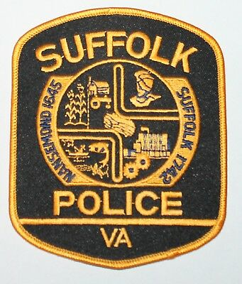 SUFFOLK POLICE Virginia VA PD patch