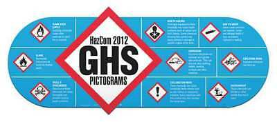 Wall Chart,Regulatory Compliance,English GHS SAFETY GHS1078