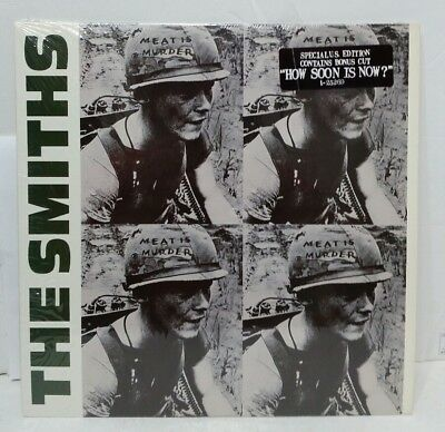 The Smiths Meat Is Murder LP 1985 US Sire 1-25269 EX-NM+ Shrink Hype