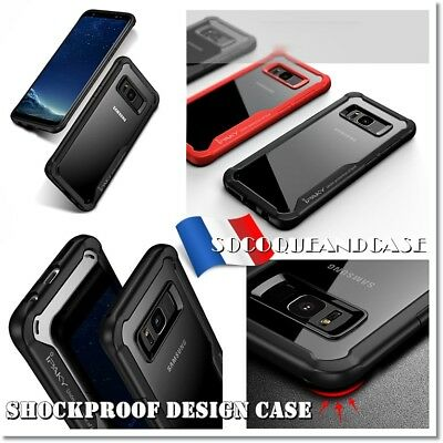 Etui protection antichoc Housse Qualité IPAKY case cover Samsung Galaxy S8 & S8+