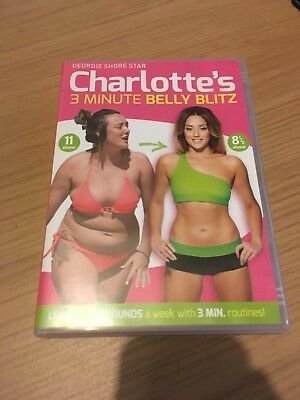 Charlotte Crosby Fitness DVD - Charlotte's 3 Minute Belly Blitz