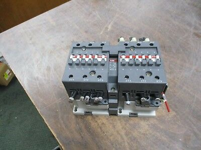ABB	2 Speed Contactor A63-30/A50-30 120V Coil 90/80A 600V Used