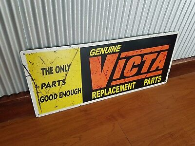 Victa Lawn Mowers Metal Tin Sign garden shed bar garage man cave spare parts