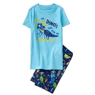 NWT Gymboree Boys gymmies Pajama set Dinosaur Shortie many sizes